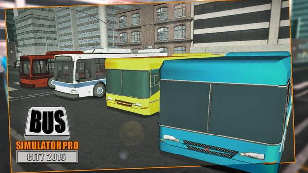 Bus Simulator Pro - City 2016 screenshot 10