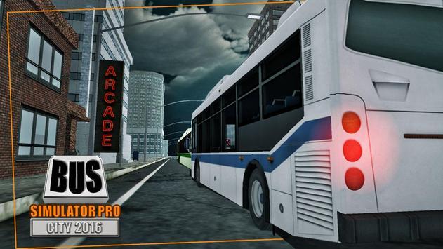 Bus Simulator Pro - City 2016 screenshot 1