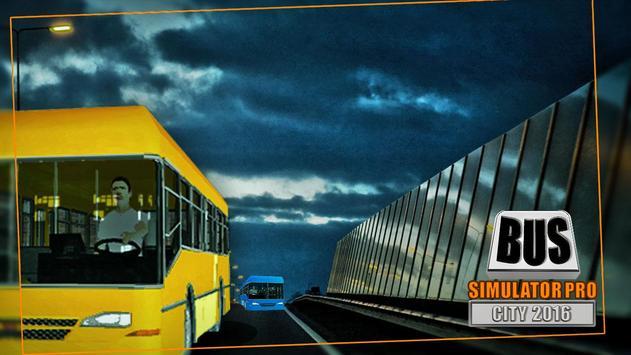 Bus Simulator Pro - City 2016 screenshot 3