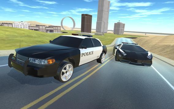 Desert City Police Simulator poster
