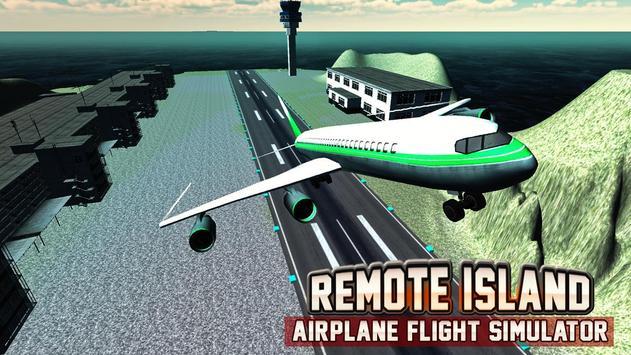 Remote Island Airplane Flight screenshot 4