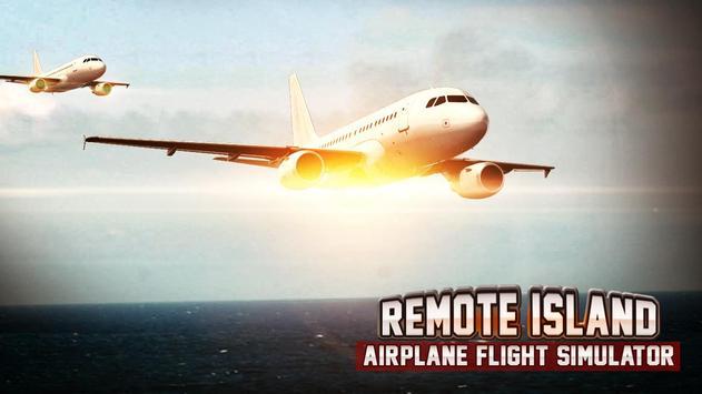 Remote Island Airplane Flight screenshot 10