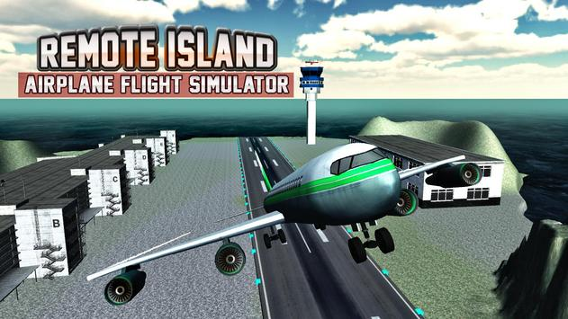 Remote Island Airplane Flight screenshot 11