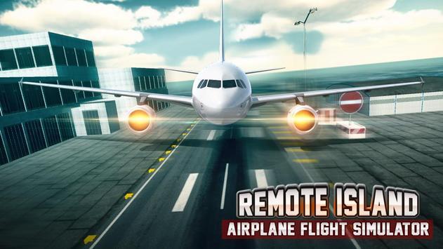Remote Island Airplane Flight screenshot 2