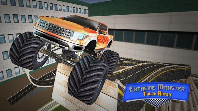 Extreme Monster Truck Racer poster