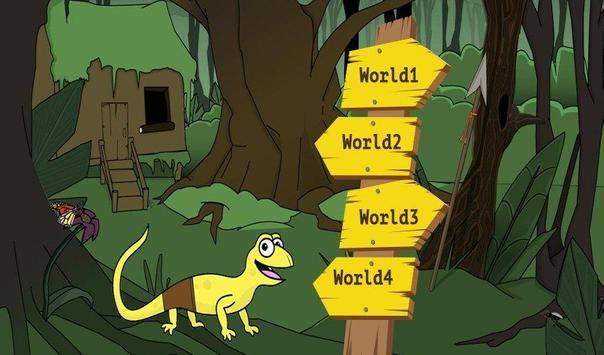 Sponge lizard screenshot 1
