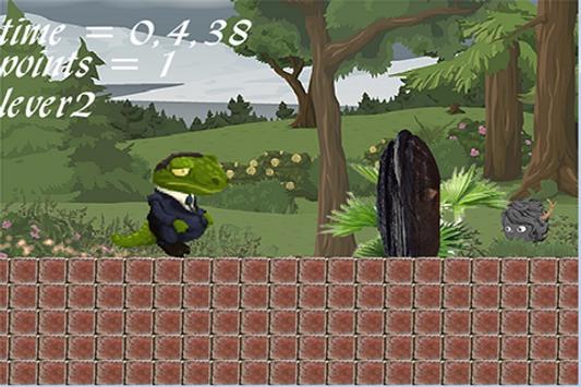 race crocodile apk screenshot