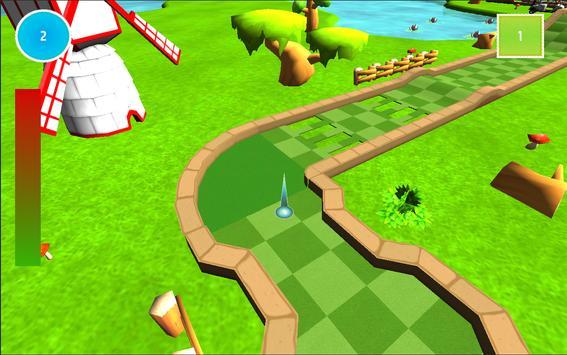 Mini Golf Challenge 3D Free apk screenshot