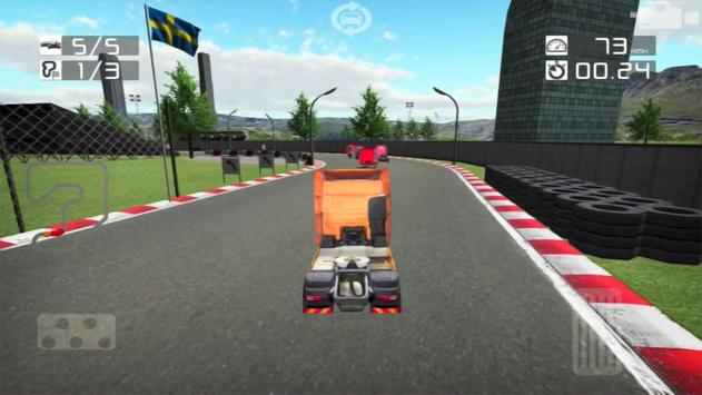 Real Truck Racing 3D Free poster