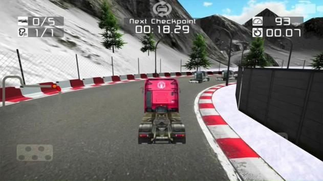 Real Truck Racing 3D Free screenshot 2