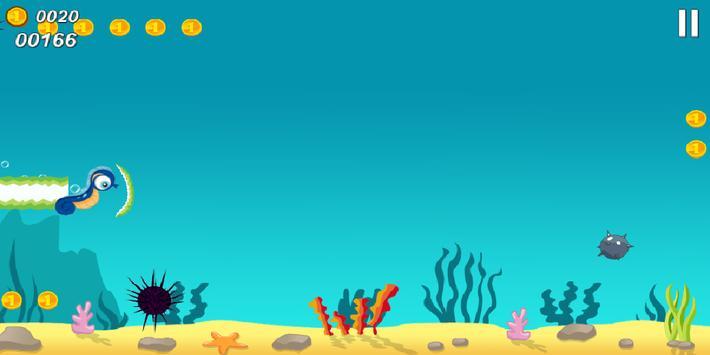 Seahorse Happy Dive poster