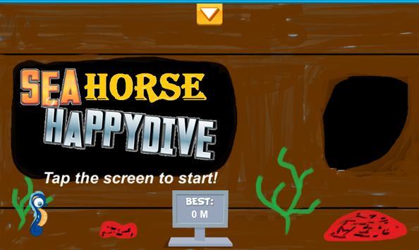 Seahorse Happy Dive screenshot 1