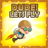 Dude! Lets Fly icon
