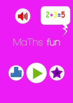 Game maths fun poster
