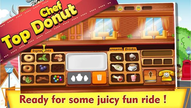 Top Donut Chef apk screenshot