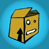 Tappy box icon