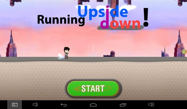 Running Upside Down ! : Free screenshot 1