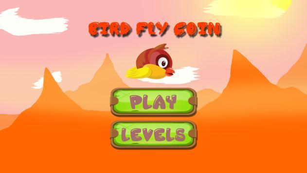 Bird Fly Coin poster