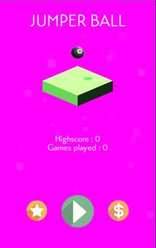 Jumper Ball - Free Ball Game poster