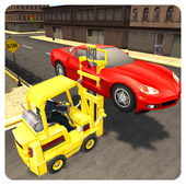 New York Police Forklift Sim icon