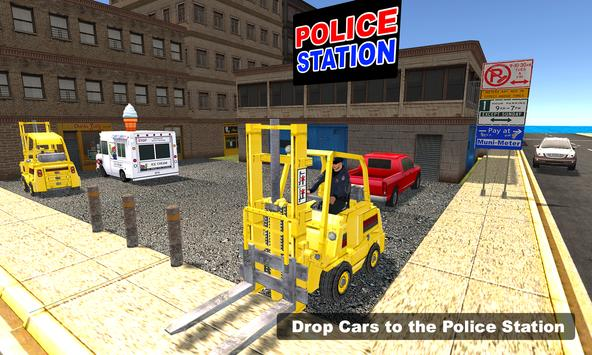 New York Police Forklift Sim apk screenshot