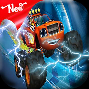 Blaze Lightning Monster apk screenshot