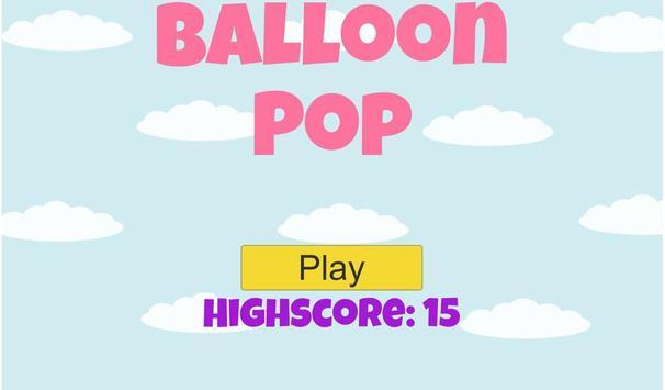 Balloon Pop screenshot 3