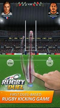 RUGBY DUEL poster