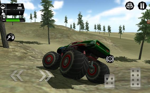Monster Truck Simulator 3D poster