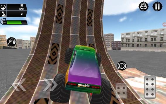 Monster Truck Simulator 3D apk screenshot