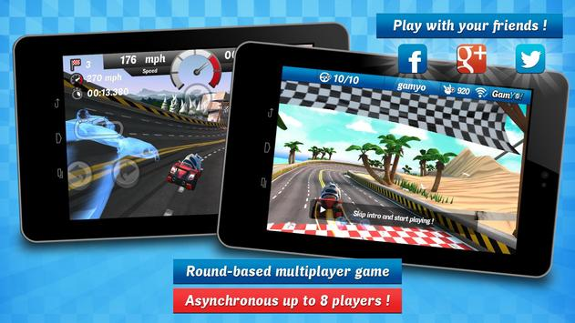 Gamyo Racing screenshot 2