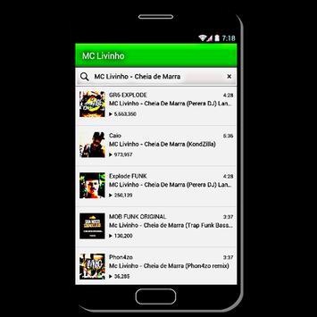 Azul Piscina - MC Livinho screenshot 1