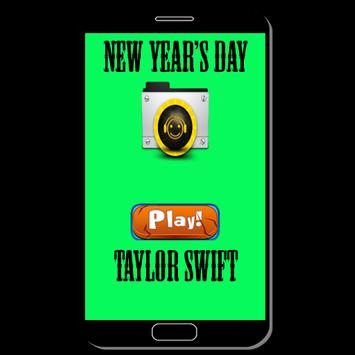 New Year's Day - Taylor Swift poster
