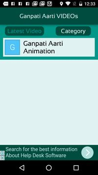 Ganpati Aarti VIDEOs screenshot 2