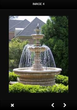 Garden Fountain Designs apk screenshot
