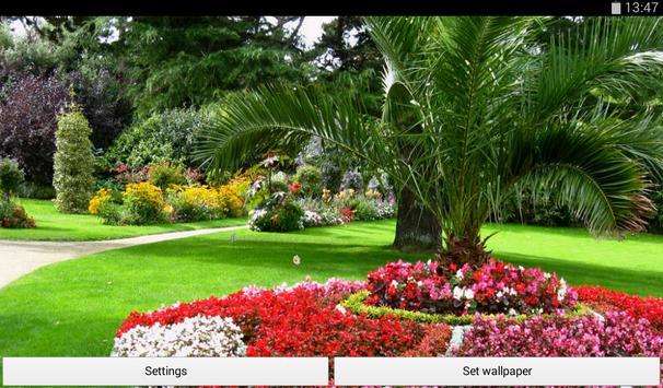 Garden Live Wallpaper APK Download - Free Personalization APP for ...
