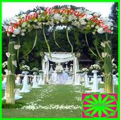 Garden wedding ideas icon