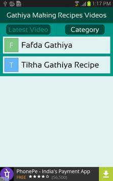Gathiya Making Recipes Videos screenshot 2