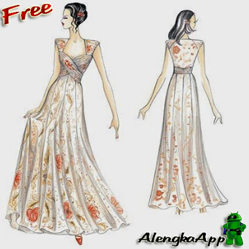 Sketch the best Bridal gown for Android - APK Download