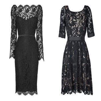 Modern Lace Dresses poster