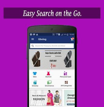 G BOLO G Online Shopping App screenshot 3