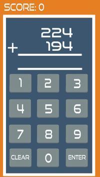 Speed Maths Addition (free) screenshot 2