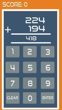 Speed Maths Addition (free) screenshot 3