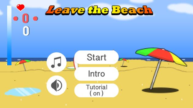 Leave the Beach screenshot 1