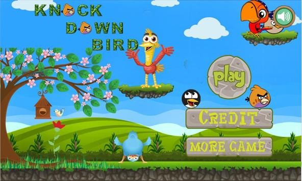 knock Down Bird poster