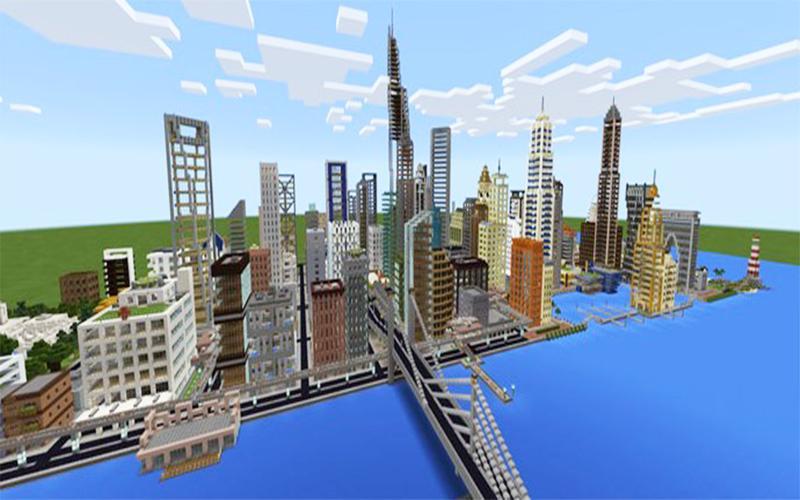 карту мегаполиса для майнкрафт 0.14.0 #6
