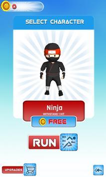 Happy Tree Ninja Friends run 2 poster
