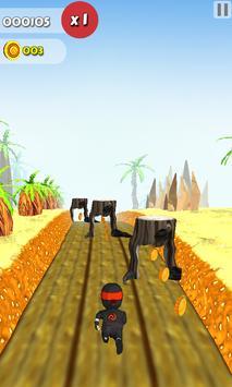 Happy Tree Ninja Friends run 2 apk screenshot