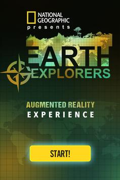 Earth Explorers AR Experience poster