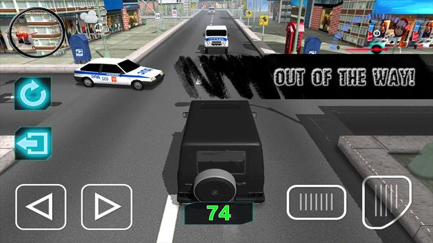 Gelandewagen Highway Traffic apk screenshot